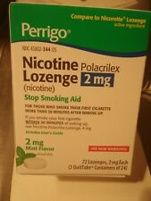Perrigo Nicotine Lozenges (72  2mgs each)