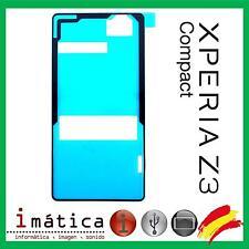 ADHESIVO TAPA SONY XPERIA Z3 COMPACT MINI D5803 PEGATINA TRASERA TRASERO BATERIA