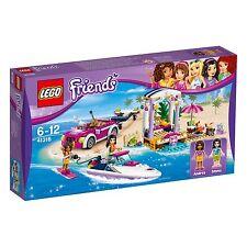 Lego ® Friends 41316 andreas lancha rápida-transporter nuevo embalaje original _ New misb NRFB