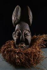 43901 Grosser Grebo Helmmaske  Liberia Afrika