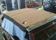 VW Golf 1 Cabrio Verdeck Polsterinlett + Polsterbezug neu original Material