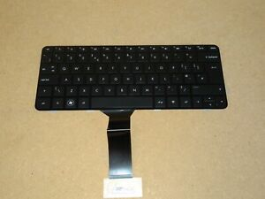 HP TouchSmart TM2 Laptop Black UK Keyboard. P/N: 584161-031