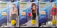 """Mego Married with Children 8"""" Figures Al, Peggy & Kelly Bundy Target Exclusive"""