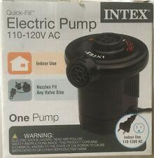 Intex 120V Quick Fill AC Electric Air Pump w/ Nozzles 66619E