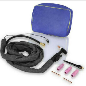 TIG Welder Torch Wp-26v Gas Valve Power/Gas Incorporated 4 meters Welding Cable