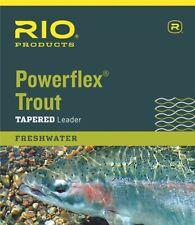 Rio Powerflex Leader Selection 9ft 3 Leaders