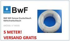 "BWF2 5 Meter Wasserschlauch 6mm (1/4"") Weiss SbS Kühlschrank, Aquarium, Filter"
