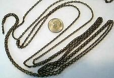 6 ft 3x2mm Antique bronze plated cable link jewelry making beading chain pch032