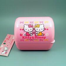 RARE! Hello Kitty Japanese Bento Lunch Box ONIGIRI RICE BALL CASE + Belt JPN O02