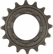 "ACS Southpaw Single Speed Bike Freewheel Left Hand Drive 16t 3/32"" Gun Metal NIB"