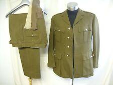 "Mens Military Suit Moss Bros, British Army no.2 dress, khaki, chest 40"", 7643"