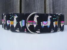 Llama - Martingale Dog Collar - Greyhound, Sighthound