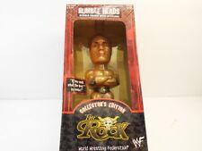 WWF Rumble Heads The Rock Bobble Head NIB - Series One
