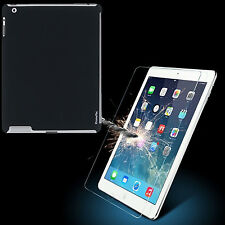 Protective 9H Tempered Glass For Apple iPad 2 3/4 Tablet Case+Screen Protector