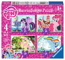 Ravensburger 06896 Colourfull High Quality My Little Pony 4 Jigsaw Puzzle