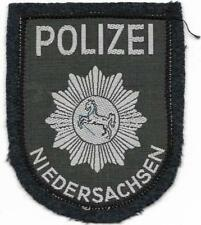 Polizei NIEDERSACHSEN Patch Jacke 60er Jahre Stoff-Abzeichen Aufnäher Hannover u