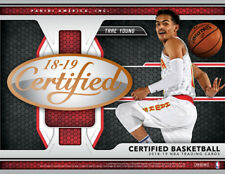 2018-19 PANINI CERTIFIED BASKETBALL COMPLETE 30-CARD LASTING IMPRESSIONS SET