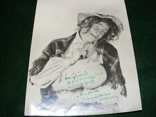 VINTAGE HAND SIGNED PHOTOGRAPH KEN HAWKES MUSIC HALL ACTOR AUTOGRAPH