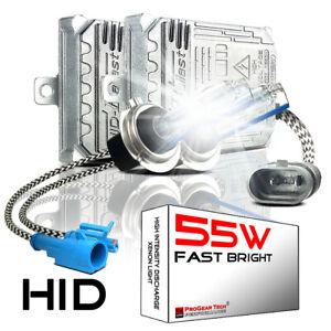55W Heavy Duty Fast Bright AC HID Xenon Conversion Kit H1 H3 H7 H8 H11 9006 HB4