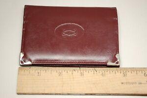 Vintage Men's Cartier Bifold Leather Wallet
