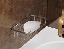 Jabón BANDEJA PLATO Cromado Plateado para baños cocinas Lavabo Retrete