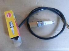 LAMBRETTA NGK SPARK PLUG AND HT CABLE NEW