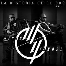 La Historia Del Duo Vol. 1 - Wisin & Yandel CD Sealed New ! 2013 !