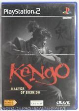 COMPLET jeu KENGO MASTER OF BUSHIDO sur playstation 2 sony PS2 game action spiel