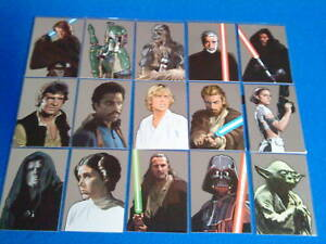TOPPS STAR WARS GALAXY 5 SILVER FOIL TRADING CARDS