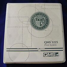 QMS 2025 Print System Manual (in a 3225 binder)