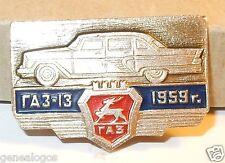 RARE BROCHE URSS USSR RUSSE VOITURE GAZ 13 LIMOUSINE 1959 BEL ETAT 35mm x 20mm
