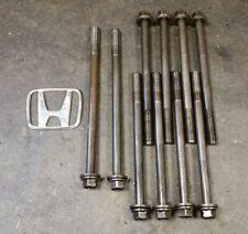 Acura Integra LS B18A1 engine HEAD BOLTS OEM