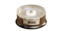 Microboards 6x BD-R DL Dual Layer Shiny Silver Thermal Printable - 25 Discs