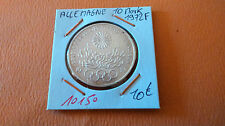 ALEMANIA 10 MARCOS 1972F - OLD GERMAN COIN - REF10150