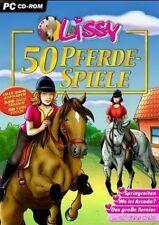 LISSY 50 PFERDESPIELE  Pferdequiz Abenteuer Reiterhof NEU