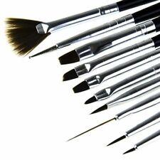 Professional Nail Art Brush 10 pcs Set UV Gel Painting Gel Design Dotting Detail