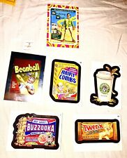 2014 Topps WACKY PACKAGES Series 1 Set: Buzzooka Beanball Twerks Hairy Combs....