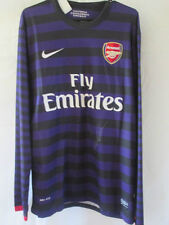 Arsenal 2012-2013 Alex Oxlade Chamberlain signé football shirt preuve COA / 13268