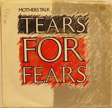 """Tears For Fears """"Mothers Talk"""" 7"""" Record 1986 Picture Sleeve Excellent Cond."""