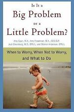 Is It a Big Problem or a Little Problem?: When to Worry, When Not to W-ExLibrary