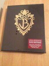 SIGNED LIMITED SLIPCASED - Burning Up On Tour With the Jonas Brothers HC SEALED