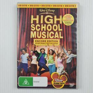 Walt Disney High School Musical DVD - Encore Edition - Region 4 - TRACKED POST