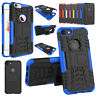For   6 6S 8 7 Plus X Case Hybrid Hard Heavy Duty Shockproof Rubber Cover
