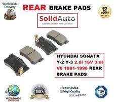 per Hyundai Sonata Y-2 Y-3 2.0i 16V 3.0i V6 1991-1998 PASTIGLIE FRENI POSTERIORI