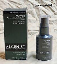 Algenist Power Advanced Wrinkle Fighter Serum - 1 oz. - Wrinkled Box, Sealed