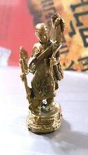 1 Pcs Phra Sivali Statue Figure Brass Sculpture Crafts Prosperity