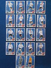 Topps Match Attax Cards - Lot of 18 - Bolton Wanderers - 2010/11 - Green Back