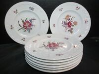 """Wedgwood Cotswold Corinthian England 8 Bread & Butter Plates 6 1/2"""" Wide"""