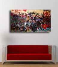 Sick Street art Urban art - Body paint 36 x 20 Canvas Print