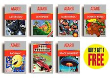 RETRO ATARI 2600 GAME POSTERS COLLECTION A3 / A4 Print Wall Decor Fan Art